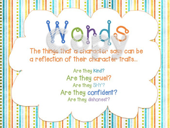 Amazing Character Traits Posters - Gain a Deeper Understanding...
