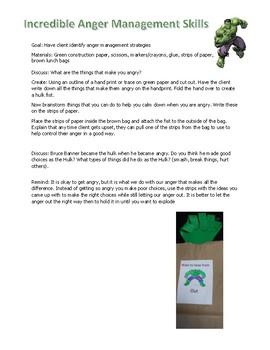 Incredible Hulk Anger Management