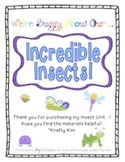 Incredible Insect Literacy Unit