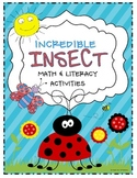 Incredible Insect Math & Literacy Centers