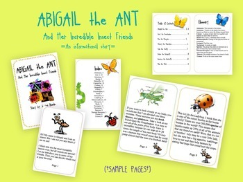 Incredible Insects Guided Reading Book