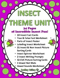 Incredible Insects - Insect Theme Unit