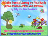 Incredible Insects Literacy & Math Bundle {insect-themed c