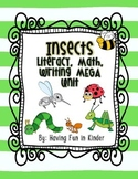 Incredible Insects - Literacy, Math, Writing, and Science MEGA Unit