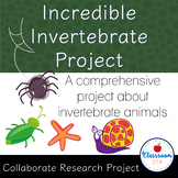 Incredible Invertebrates Project (Pearson Life Science Explorer Textbook Based)