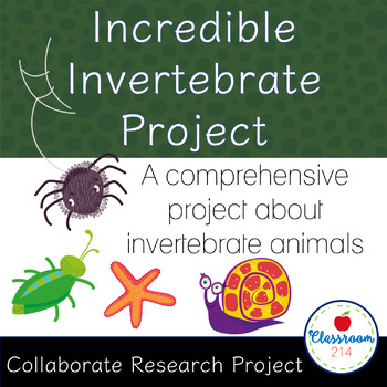 Incredible Invertebrates Project (Pearson Life Science Exp