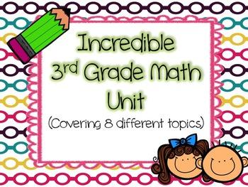 Incredible Math Unit
