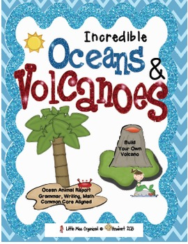 Incredible Oceans & Volcanoes Building Unit!