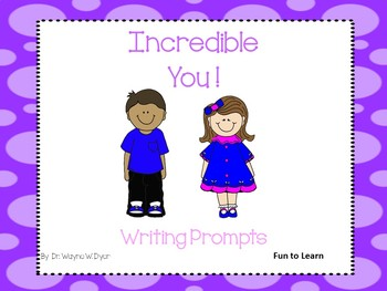 Incredible  You !  Beginning of the School Year
