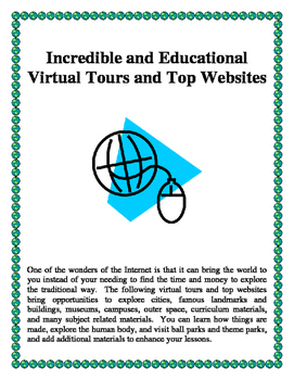 Incredible and Educational Virtual Tours and Top Websites