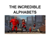 Incredibles Word Wall Letters
