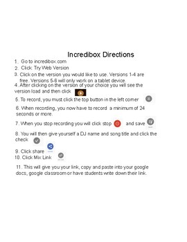 Incredibox Directions-New Version