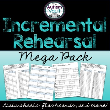 Incremental Rehearsal Intervention Pack for Special Education and RTI