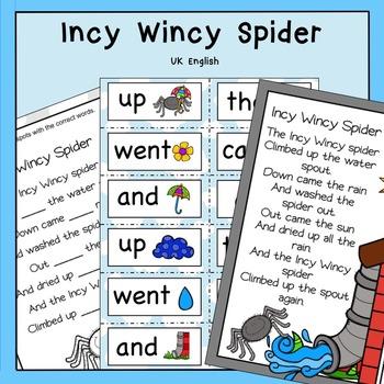 Incy Wincy Spider AUS UK