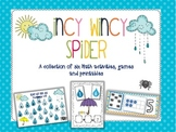 Incy Wincy Spider - Math Activities