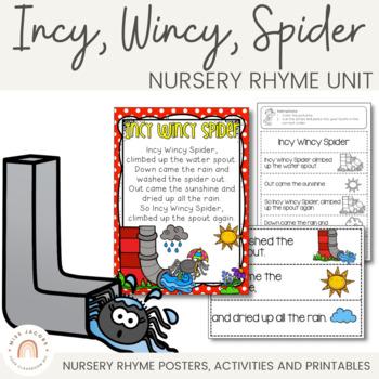 Incy Wincy Spider: Nursery Rhyme Pack