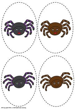Incy Wincy Spider Nursery Rhyme Puppets