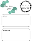 Incy Wincy Spider STEM Challenge - printable