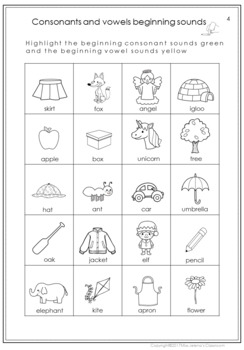 Indefinite Article Worksheets