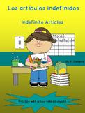 Indefinite Articles in Spanish- Los artículos indefinidos