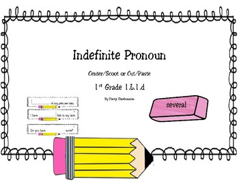 Indefinite Pronoun Center/Scoot