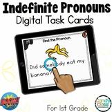 Indefinite Pronouns: BOOM Cards™ for Digital Grammar Games