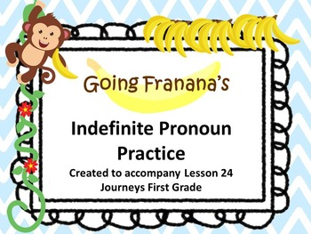 Indefinite Pronouns Practice