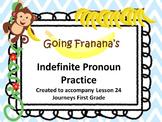 Indefinite Pronouns Practice