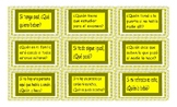 Indefinite Pronouns Spanish Card Game