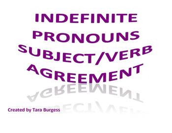 Indefinite Pronouns Task Cards