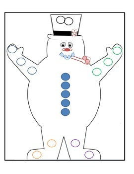 Indefinite Pronouns with Frosty the Snowman!