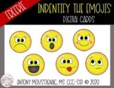 Identify the Emojis Digital Cards | Distance Learning| Freebie