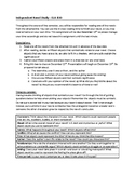 Independant Novel Study Assignment and Rubric - Editable -