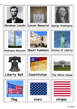 Independence Day, 4th of July Cards, Pecs