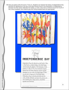 Independence Day Activities and Crafts: July 4th Agamograph