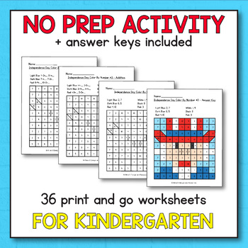 Constitution Day Kindergarten - Constitution Day Math Activities