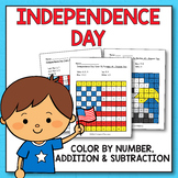 4th of July Activities for Kindergarten - 4th of July Math