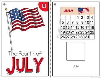 Independence Day Adapted Books ( Level 1 and Level 2 ) 4th of July