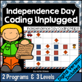 Independence Day Coding Unplugged (4th of July)