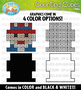 Independence Day Counting Cubes Clipart {Zip-A-Dee-Doo-Dah Designs}