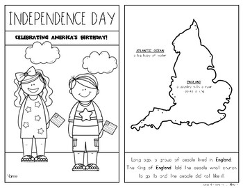 Independence Day {Fourth of July} Kindergarten & First Grade Social Studies Unit