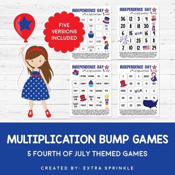 Independence Day Multiplication Bump Games
