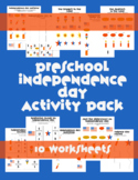 Independence Day Preschool Summer Packet