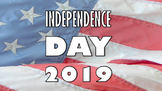 Independence Day Presentation and Quiz Worksheet 4th July 2018