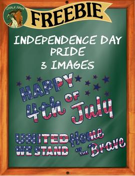 Independence Day Pride Clip Art - FREEBIE