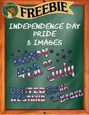 Independence Day Pride Clip Art - FREEBIE