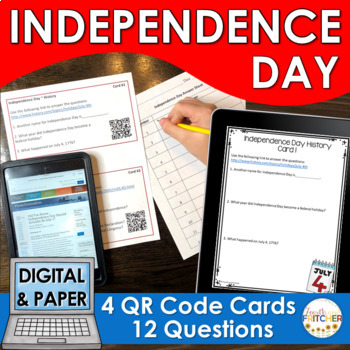 QR Code Quest: Independence Day {FREEBIE}