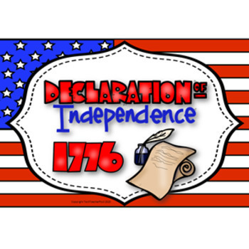 Declaration of Independence Research Pack: Writing, Display Material & Websites