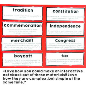 Declaration of Independence Research Pack Writing, Displays and Writing Prompts