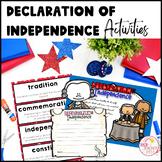 Declaration of Independence Activities